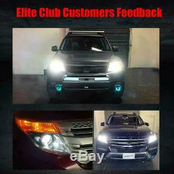 Fit for Toyota Tundra 2014-19 LED Headlight Conversion Kit Bulbs H4 9008 8000LM