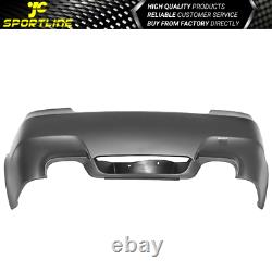 Fits 04-09 E60 E61 5 Series M5 Style Rear Bumper Cover Conversion Dual Outlets