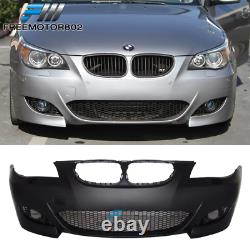 Fits 04-10 BMW E60 E61 5-Series M5 Style Front Bumper Conversion PP