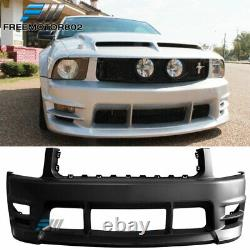 Fits 05-09 Ford Mustang V6 Racer Style Front Bumper Cover Conversion BodyKit