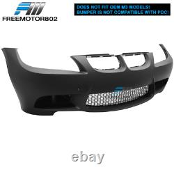 Fits 06-08 BMW E90 3-Series M3 Style Front Bumper Conversion Air Duct PP
