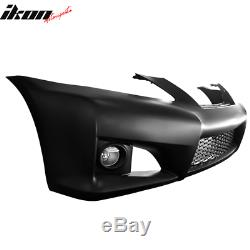 Fits 06-09 IS-Series IS250 IS350 PP Front Bumper Conversion No PDC & Foglight