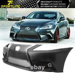 Fits 06-13 Lexus IS250 IS350 F-Sport Front Bumper 2IS to 3IS Conversion Cover PP