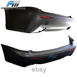 Fits 06-13 Lexus IS250 IS350 Rear Bumper Conversion+ Dual Tip + Reflector NO PDC