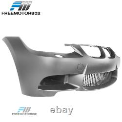 Fits 07-10 BMW E92 E93 3 Series 2Dr Front Bumper Conversion Cover With Air Duct
