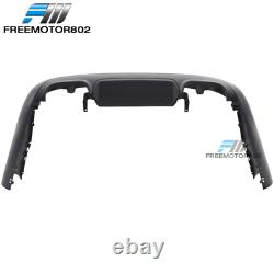 Fits 07-13 Benz W221 S-Class Rear Bumper Conversion Diffuser With PDC