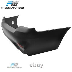 Fits 07-13 E92 Coupe M4 Style Rear Bumper Conversion Bodykit PP