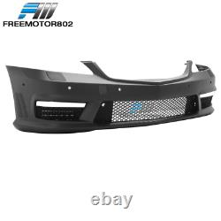 Fits 07-13 Mercedes W221 Front Bumper Conversion With PDC AMG Style PP