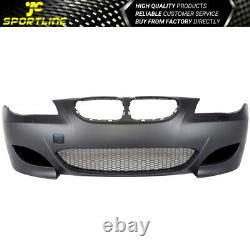 Fits 08-10 BMW E60 5-Series M5 Style Front Bumper Cover Conversion Air Duct PP
