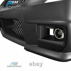 Fits 08-13 Cadillac CTS Front Bumper Conversion V Style with Grille Fog Light