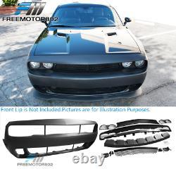 Fits 08-14 Dodge Challenger Coupe Front Bumper Cover Conversion PP