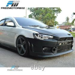Fits 08-15 Mitsubishi Lancer FQ FQ440 Style Front Bumper Cover Conversion PP