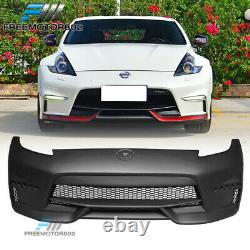 Fits 09-19 Nissan 370Z Coupe NS Style Front Bumper Cover Conversion Cover PP