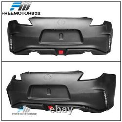 Fits 09-19 Nissan 370Z NS Rear Bumper Cover Conversion with LED Brake Light PP