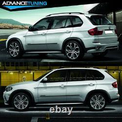 Fits 11-13 BMW X5 E70 LCI Aero Full Kit Front Rear Bumper Lip Spoiler 13Pcs PP