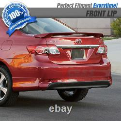 Fits 11-13 E140 Corolla S 10 & 10.5 Gen Rear Bumper Lip Sport Conversion PP