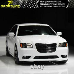 Fits 11-14 Chrysler 300 Front Bumper Cover Conversion Bodykit With Grille PP
