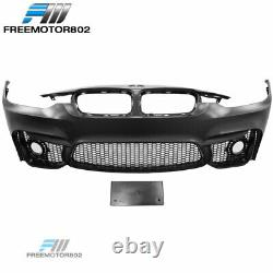 Fits 12-18 BMW F30 3 Series M3 Style Front Bumper Conversion With Fog Cover PP