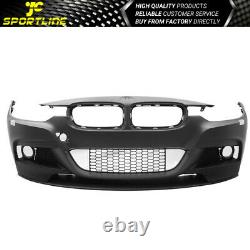 Fits 12-18 F30 3Series M Performance Front Bumper Conversion With Fog Cover PDC