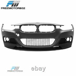 Fits 12-18 F30 3Series Sedan M Performance Front Bumper Conversion with Fog Cover