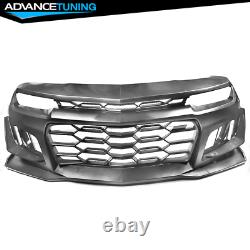Fits 14-15 Chevy Camaro 5TH to 6TH Gen 1LE Style Front Bumper Conversion Kit