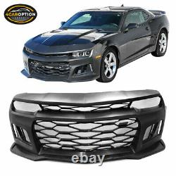 Fits 14-15 Chevy Camaro Coupe 5TH to 6TH Gen ZL1 Front Bumper Conversion PP