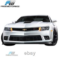 Fits 14-15 Chevy Camaro SS Front Bumper Conversion Fog Lights PP