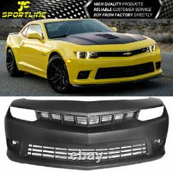 Fits 14-15 Chevy Camaro SS Front Bumper Conversion with Fog Lights PP