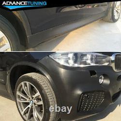 Fits 14-17 BMW F15 X5 M-Tech Complete Kits Full Conversion Unpainted Black PP