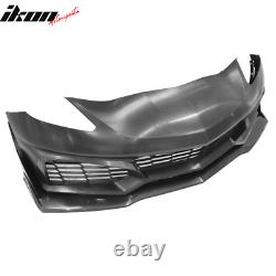 Fits 14-19 Chevy Corvette C7 PP Front Bumper Conversion Kits Upgrade To 2019 ZR1