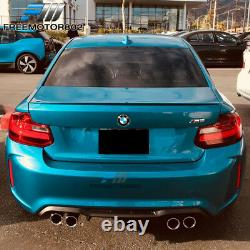Fits 14-21 BMW F22 F23 M2 Style Rear Bumper Conversion Diffuser Twin Outlet