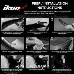 Fits 15-17 Lexus RC300 RC350 F-Sport Silkblaze Style Full Lip Kit Conversion PP