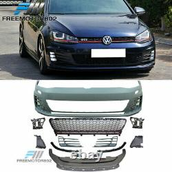 Fits 15-17 VW Golf 7 MK7 GTI Type Front Bumper Cover Conversion No PDC