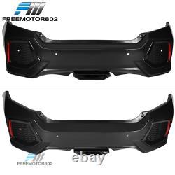 Fits 16-20 Honda Civic 10th Gen SI Style Rear Bumper Cover Conversion
