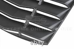 Fits 16-Up Chevrolet Camaro Coupe Rear Window Louver Sun Shade Cover ABS Plastic