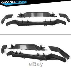 Fits 17-18 Honda Civic Hatchback Type-R Rear Bumper Lip Conversion Kit