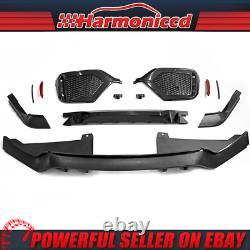 Fits 17-20 Honda Civic Hatchback Type R Rear Bumper Cover Conversion pp