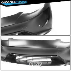 Fits 17-21 Tesla Model 3 IKON Style Front Bumper Conversion PP