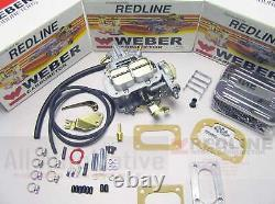 Fits 1983-1985 Nissan 720 Truck Z24 2.4 32/36 Redline Weber Conversion Kit K646