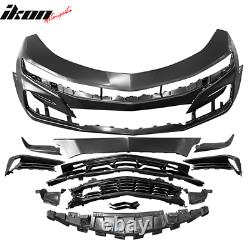 Fits 19-21 Chevy Camaro SS Style Front Bumper Conversion Guard Unpainted PP