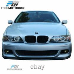 Fits 96-03 BMW E39 5 Series M5 Style Front Bumper Conversion + Lip + Fog Lights