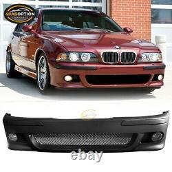Fits 96-03 BMW E39 5 Series Sedan M5 Front Bumper Cover Conversion Replacement