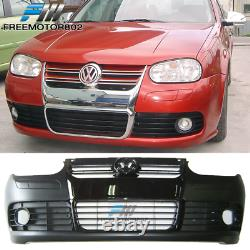 Fits 99-04 VW Golf MK4 R32 Style Front Bumper Conversion Grille PP