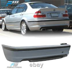 Fits 99-05 BMW E46 3 Series Sedan MT M Sport Rear Bumper Conversion Cover