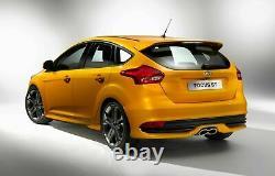Fits Focus 15 16 17 18 Rear Bumper Cover Valance Kit St Conversion 5dr Hatchback