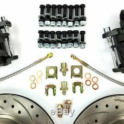 Fits Ford 8 & 9 Rear Axle Disc Brake Conversion Kit F-Series Mustang Torino