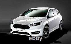 Fits Ford Focus 15 16 17 18 Sport St-line Conversion Front Bumper Cover Kit New
