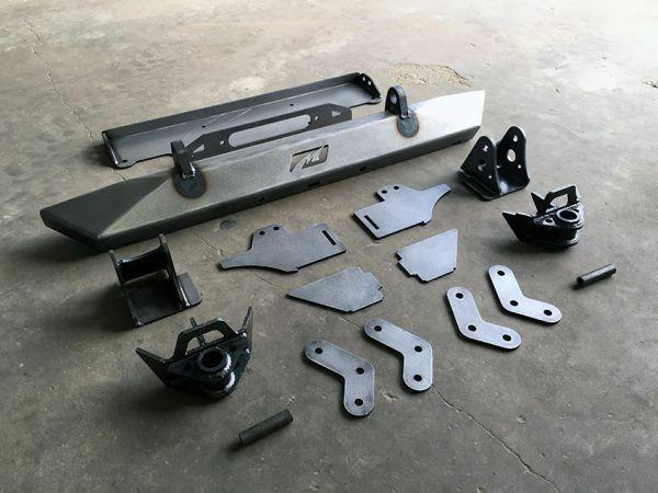 Fits Jeep Cj Full Width Axle Conversion Kit