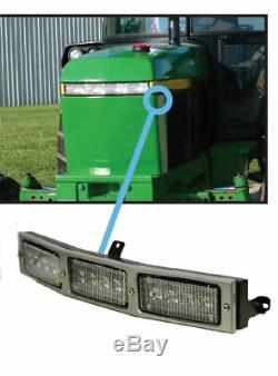 Fits John Deere 2040-3150 Series Tractor LED Hood Light Conversion Kit RE306510