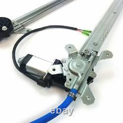 Flat-Glass Power Window Conversion Kit 12V Lift Regulator Fits 64-65 Ford Falcon